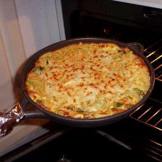 Сырная паста Фриттата - фото шаг 9