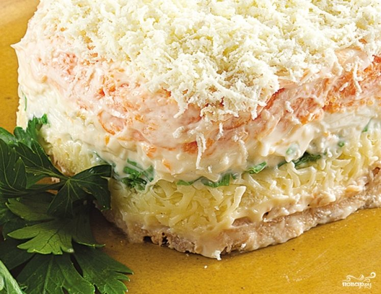салат мимоза приготовление с