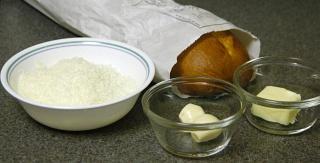 Рецепт Багет с пармезаном и чесноком