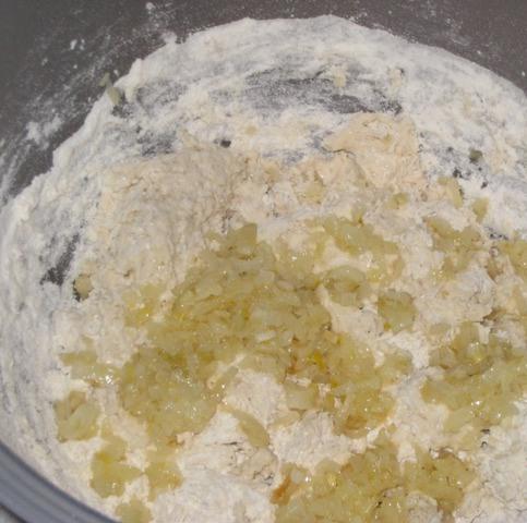 Багет с луком - фото шаг 3
