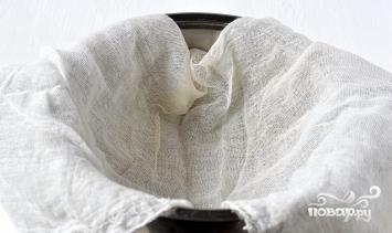 Домашний творог из кислого молока - фото шаг 2