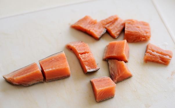 Рецепт Рыба с овощами на пару