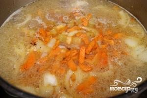 Суп с тефтелями - фото шаг 6
