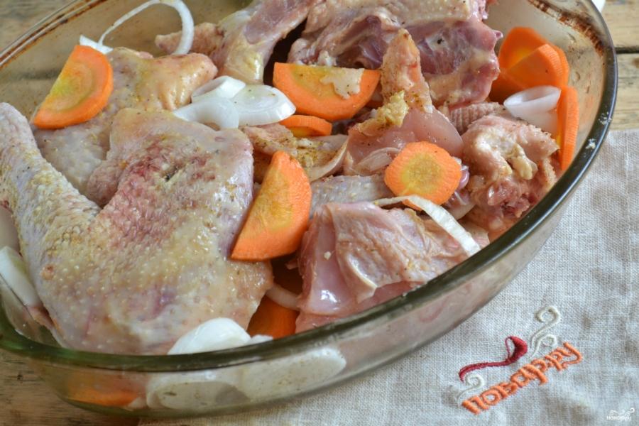 Как приготовить индоутку в духовке