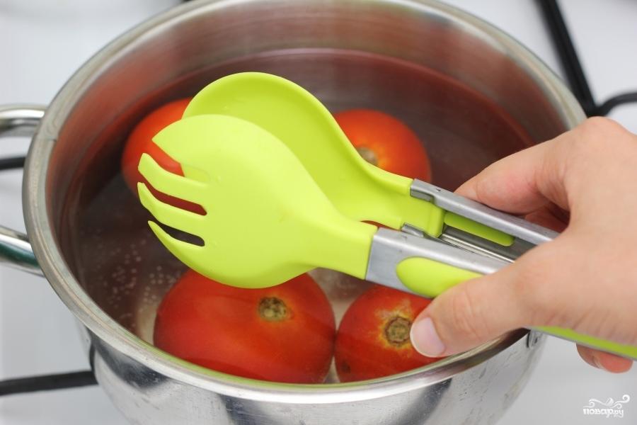 Рецепт Горячий томатный суп