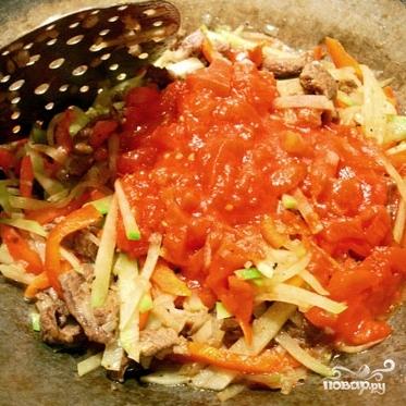 Рассыпчатый рис с подливой - фото шаг 6