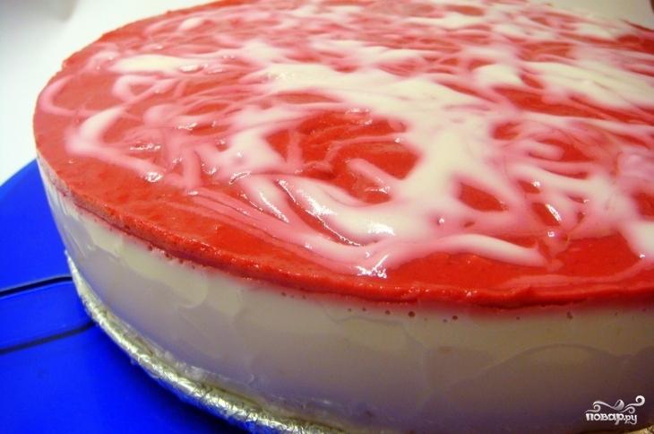 Йогуртно творожный торт рецепт