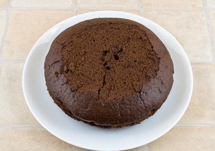 Постный кекс с вареньем - фото шаг 8