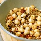 Рецепт Куриный шашлык в панировке с салатом