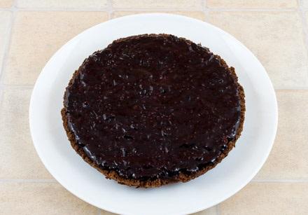 Постный кекс с вареньем - фото шаг 7