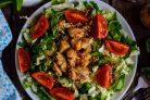 Салат из китайской капусты и помидоров