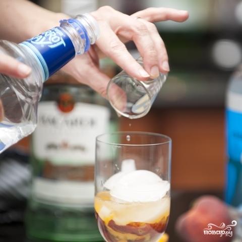Персиковый коктейль - фото шаг 3