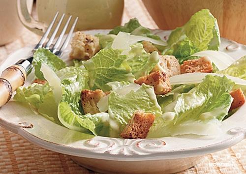 "Настоящий салат ""Цезарь"" - фото шаг 9"