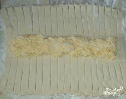 Слоеный сырный пирог - фото шаг 6