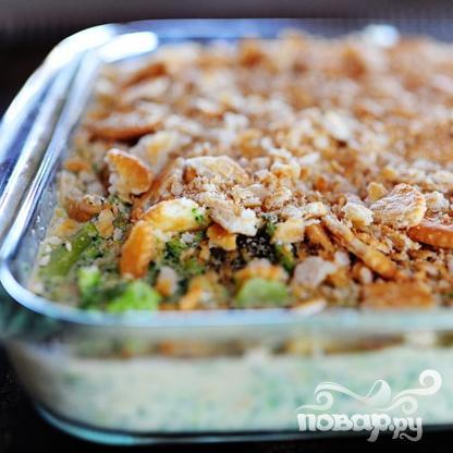 Кассероль с брокколи и сыром - фото шаг 7