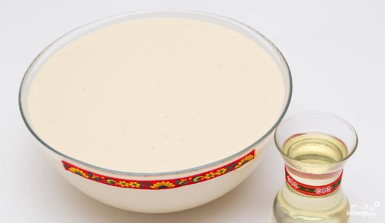 Тонкие блинчики на кефире ажурные рецепт
