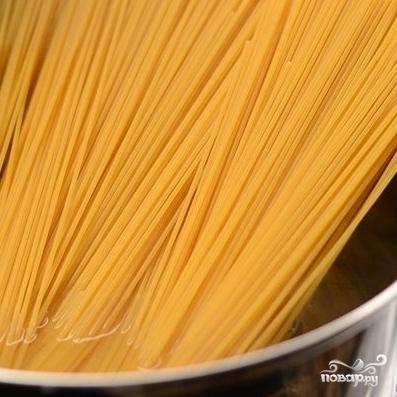 Спагетти Карбонара - фото шаг 2