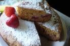 Клубничный десерт в мультиварке