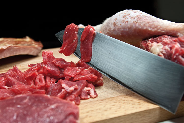 Рецепт Солянка мясная на сковороде