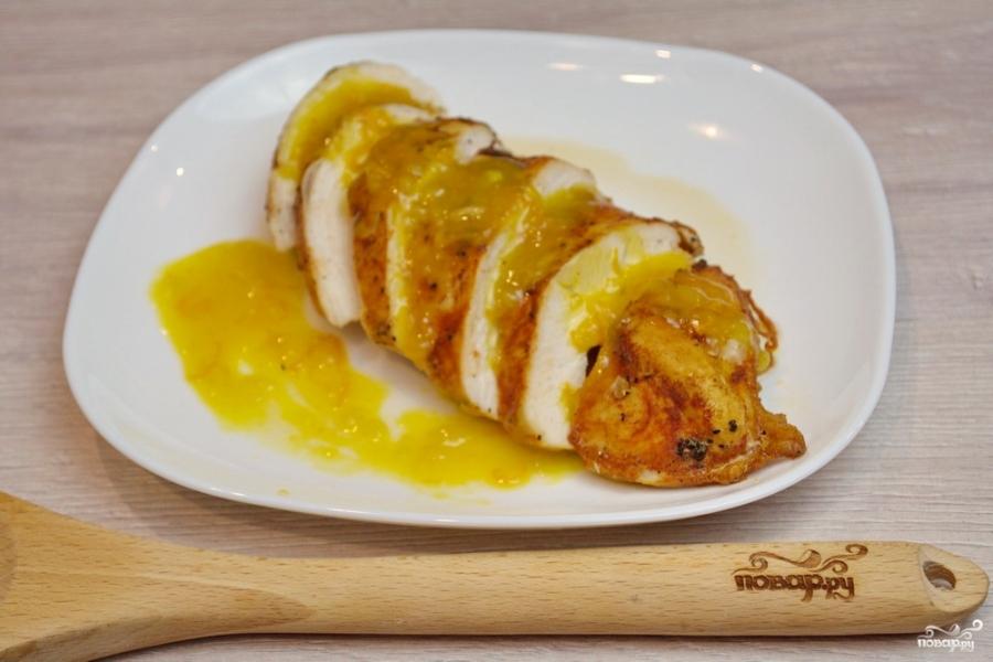 Курица под апельсиновым соусом - фото шаг 5