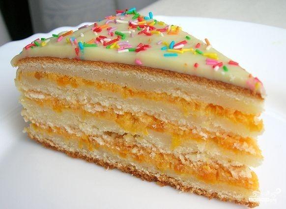 Манник торт рецепт пошагово в домашних