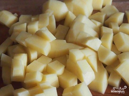 Картофельный суп с пореем  - фото шаг 2