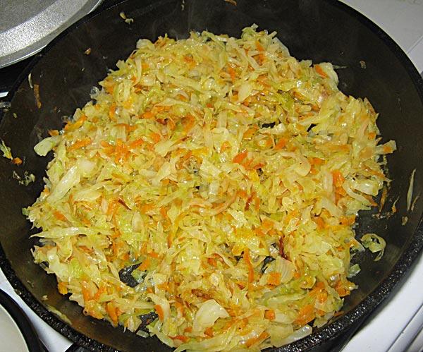 Курица с капустой и рисом - фото шаг 5