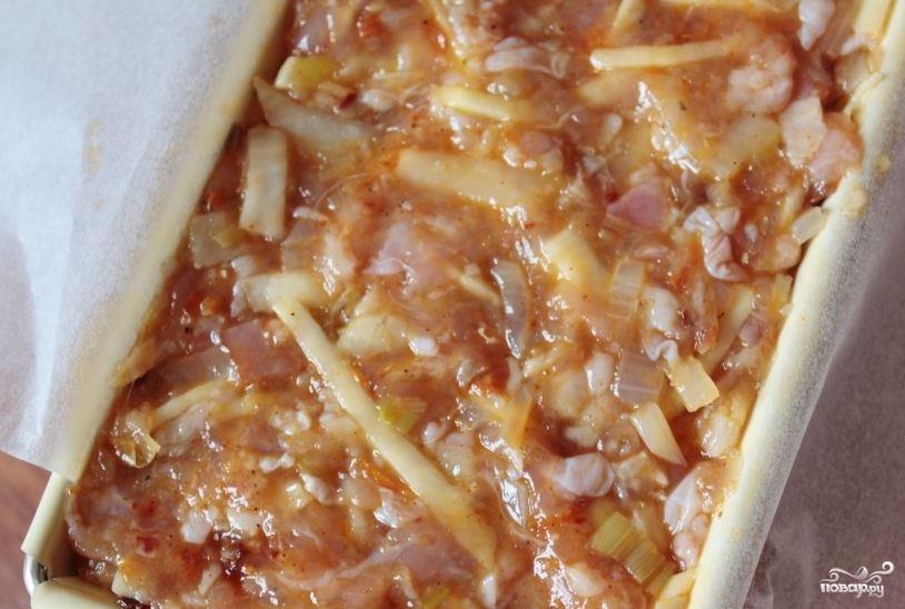 запеканка с куриным в духовке пошаговый рецепт с фото