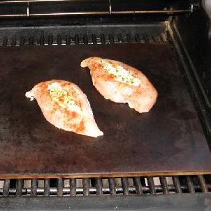 Фаршированная курица Бри - фото шаг 11
