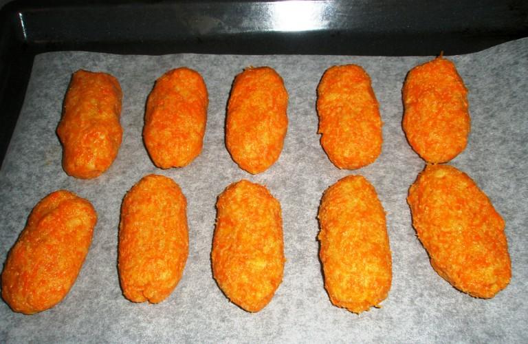 Вегетарианские котлеты в духовке - фото шаг 4