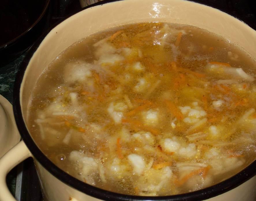 Суп с овощами и мясом - фото шаг 6