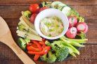 Вегетарианская закуска с греческим йогуртом