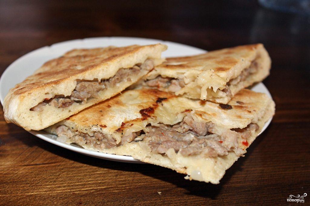 Рецепт Хачапури с мясом