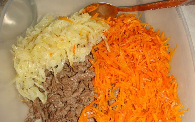 Салат из печени и корейской моркови рецепт с очень вкусный