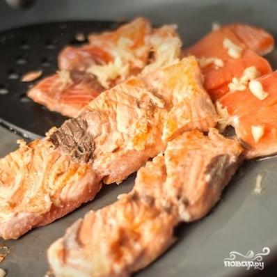 Паста с лососем - фото шаг 3