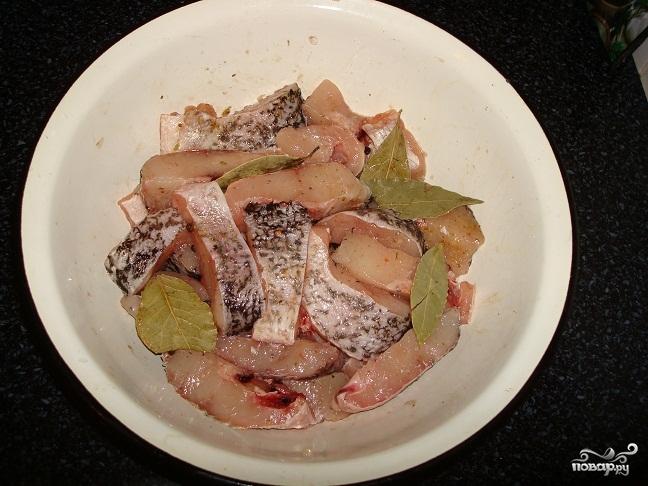 Рецепт Щука в сметане