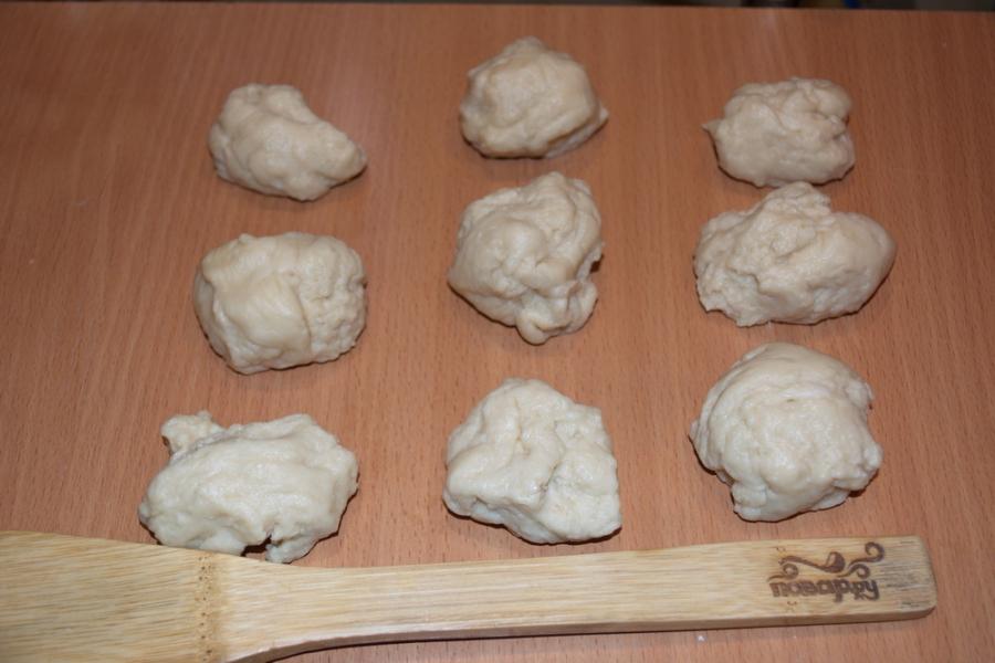 Дрожжевое тесто для пирожков в духовке - фото шаг 3
