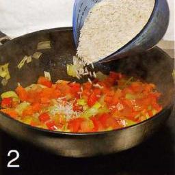 Жареные гребешки с рисом - фото шаг 2