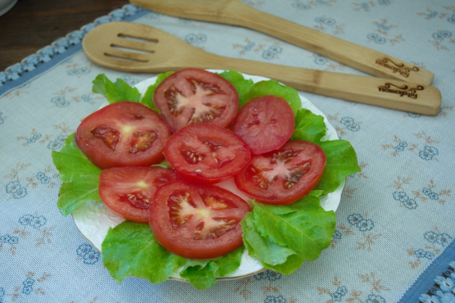Закуска из помидоров под сыром - фото шаг 2