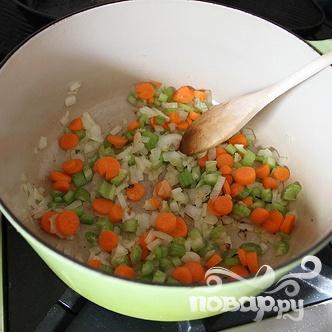 Суп-пюре с фасолью и ветчиной - фото шаг 2