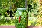 Засолка зелёных помидоров холодным способом