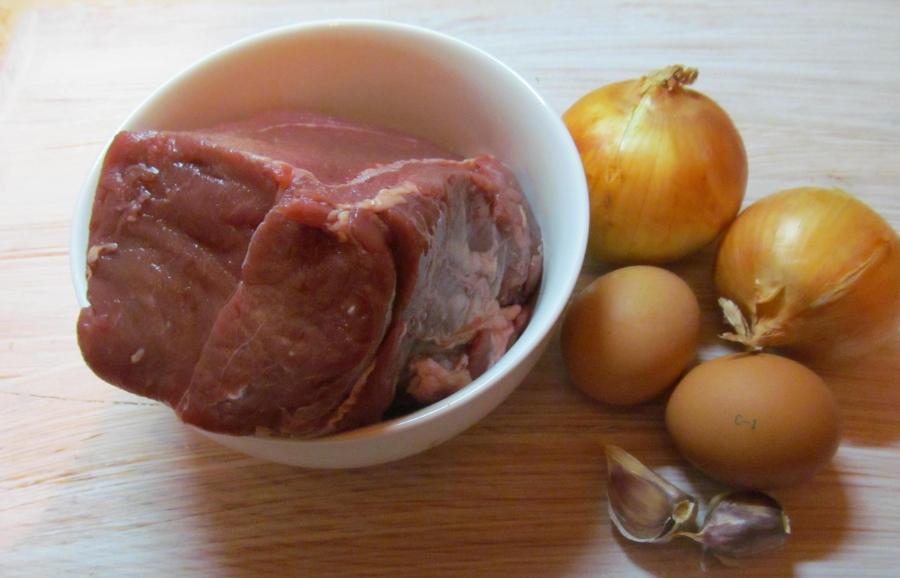 Рецепт Вкусные котлеты из говядины