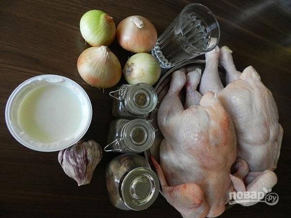 Шашлык из курицы на минеральной воде - фото шаг 1