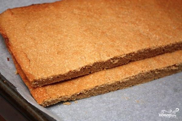 Гречневый торт с творогом - фото шаг 7