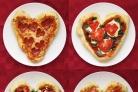 Пицца на День Валентина