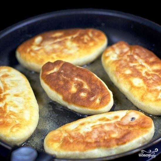Пирожки с мясом и рисом - фото шаг 20