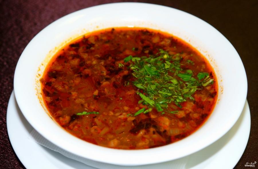Суп с капустой и зеленым горошком - рецепт с фото