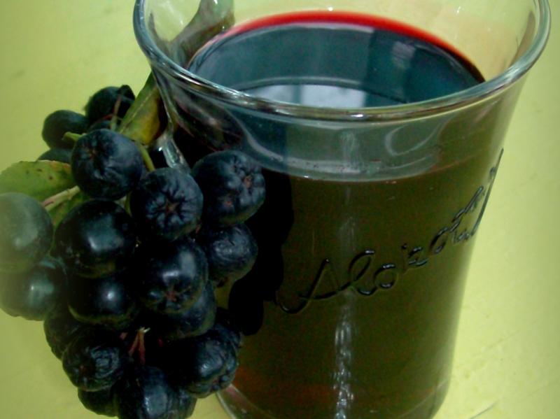 Сироп из черноплодной рябины - фото шаг 9
