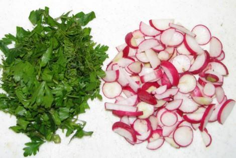 Вегетарианский салат из пекинской капусты - фото шаг 5