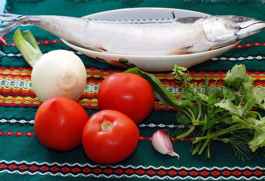 Рецепт Cкумбрия кусочками в духовке